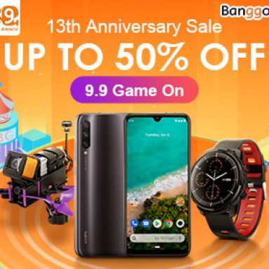 BANGGOOD TECHNOLOGY CO., LIMITED의 Banggood 10th 기념일을위한 사이트 전체 쿠폰을 13 % 할인 받으십시오
