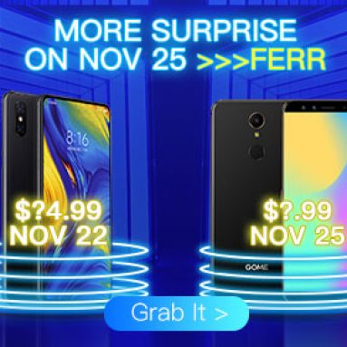 Amazing Black Friday Sale for Brand Smartphone Shock from BANGGOOD TECHNOLOGY CO., LIMITED