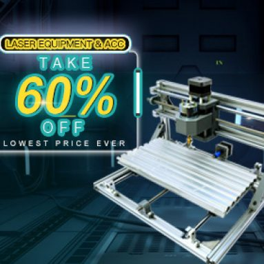 Max 60% OFF for Laser Equipment & ACC from BANGGOOD TECHNOLOGY CO., LIMITED