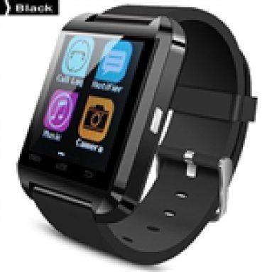 41% OFF for New U Watch U8: Bluetooth 4.0 MTK Smart Slitasjeutstyr Watch Armbånd Sport Klokke for Android Phone fra TinyDeal