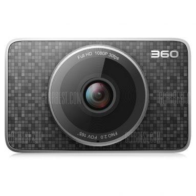 $ 69 avec coupon pour 360 J511 1080P Voiture DVR Camera + TF Card - Noir de GearBest