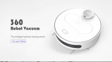 € 256 con cupón para 360 S6 Aspirador automático robótico en el almacén de la UE de GearBest