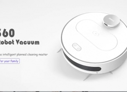 €269 with coupon for 360 S6 Automatic Robotic Vacuum Cleaner from GearBest