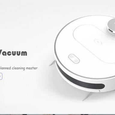 € 278 con coupon per 360 S6 Robot Aspirapolvere 1800Pa Aspirazione Mopping Modalità Spazzata Telecomando APP LDS Lidar SLAM Algoritmo da magazzino EU CZ BANGGOOD