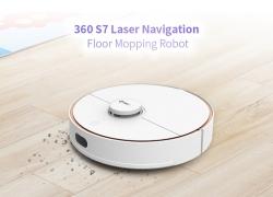 $ 459 dengan kupon untuk 360 S7 Laser Navigation Robot Vacuum Cleaner dari GEARBEST