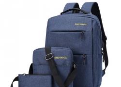 € 12 με κουπόνι για 3Pcs Σακίδιο Set 20.8L 15.6L XNUMX-ιντσών USB Φορτιστής τσάντα για laptop Αδιάβροχη τσάντα ώμου Pen τσάντα για Camping Ταξίδι από BANGGOOD