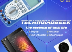 March Bargain: 50% OFF Technologeek for Eletronic, Cellphone, Tablet & Computer from BANGGOOD TECHNOLOGY CO., LIMITED