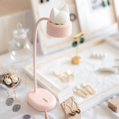 €10 with coupon for 3life Flexible LED Desk Light Three-Gear Adjustable Cat Reading Night Light Table Lamp from Xiaomi Youpin – Green from BANGGOOD
