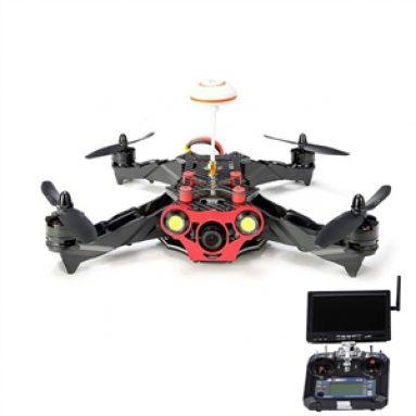 Racer 250 FPV Drone avec I6 2.4G 6CH Transmetteur 7 Pouces 32CH Moniteur HD Caméra RC Bay Không Người Lái Quadcopter từ HobbyGaga