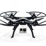 Huanqi H899 6-Axes Gyro Mode Headless RC Quadcopter RTF 2.4GHz Comptible avec Gopro 4 Gopro 3 xiaoyi Caméra from HobbyGaga