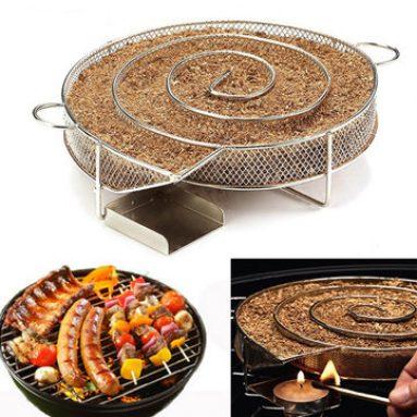 Picnic BBQ Cold Smoking Generator Tray со скидкой 20%! from Banggood INT
