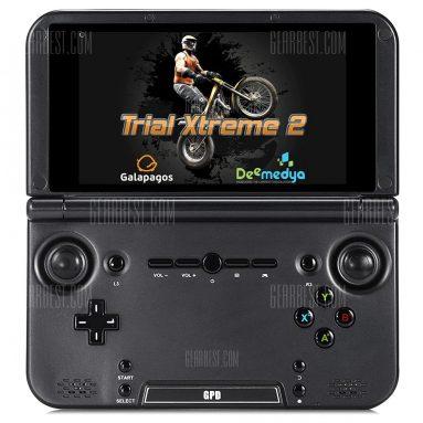 $ 119 với phiếu giảm giá cho 5 inch Gpd XD Handheld Game Console - 32GB GUN METAL kho EU từ GearBest