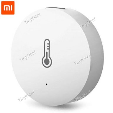 26%OFF for Original Xiaomi Smart Sensor Real-time Detection Temperature and Humidity Sensor from TinyDeal