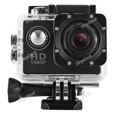 "42% OFF for SJ4000 Mini Sport Kamera 1.5 ""LCD 1080P FHD 12MP 140 ° Vidvinkel 30M Vanntett HDMI 1.5h Batterilevetid fra TinyDeal"