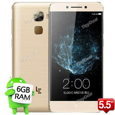 12% off Coupon for LETV LeEco LE PRO 3 Free shipping @TinyDeal! from TinyDeal