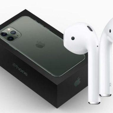 Apple údajně svazuje nové iPhony s AirPody příští rok