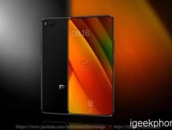 Xiaomi MI7 Concept Renderings Leaks Dual Front 8MP Camera and 16MP Back Camera