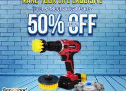Up to 50% OFF for Tool&Mechanical Parts Promotion from BANGGOOD TECHNOLOGY CO., LIMITED