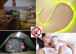 $19 with coupon for 5M LED Repelling Mosquito Strip Light 12V 600 LEDs for Home Hotels Schools – YELLOW GREEN from GearBest