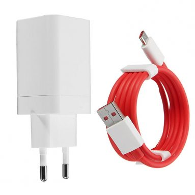 €10 with coupon for 5V 4A Original Fast Phone Charger EU Adapter Type-C Cable For ONEPLUS from BANGGOOD