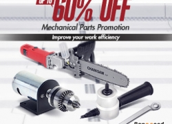 Up to 60% OFF for Mechanical Parts Promotion from BANGGOOD TECHNOLOGY CO., LIMITED