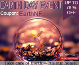 Earth Day Event, Up To 78% Off from Newfrog.com