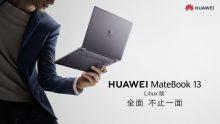 La version Linux de Huawei MateBook est en vente aujourd'hui
