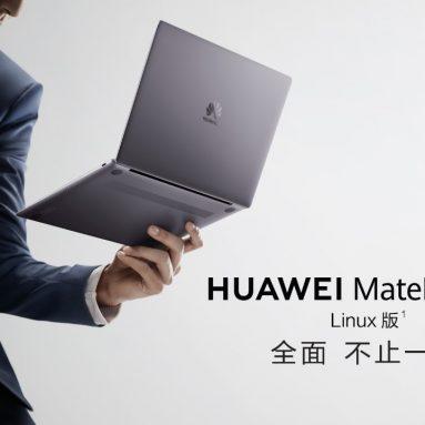 Verzija Huawei MateBook Linuxa danas se prodala