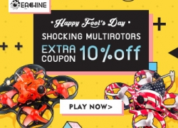 10% OFF Coupon for RC Multirotors from BANGGOOD TECHNOLOGY CO., LIMITED