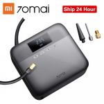 €31 with coupon for 70 Mai 12V Portable Car Tire Inflator Digital Display Air Pump Compressor Black Youth Version from Xiaomi Youpin from BANGGOOD