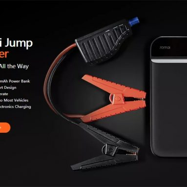 €47 with coupon for 70mai 11100mAh Car Lithium Jump Starter Powerbank Emergency Battery Booster Pack Multifunction from Xiaomi Youpin from BANGGOOD