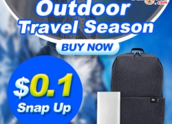 Outdoor Travel Season!! $0.1 Snap Up Outdoor Products from BANGGOOD TECHNOLOGY CO., LIMITED