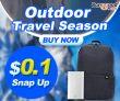 עונת הנסיעות בחוץ !! $ 0.1 הצמד מוצרים בחוץ מ BANGGOOD טכנולוגיה ושות ', מוגבלת