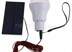 Portable Solar Power LED Bulb Lamp Outdoor Lighting-Only US$6.99 from Newfrog.com