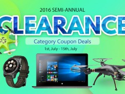 Clearance for All categories at bottom price! Low to $0.99! from HongKong BangGood network Ltd.
