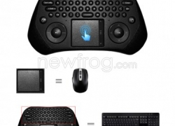 Measy GP800 USB Wireless Touchpad Air Mouse Keyboard Android PC Smart TV-Only US$13.27 from Newfrog.com