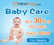 בייבי טיפול עד 30% הנחה וקופון: Baby8 מ Newfrog.com