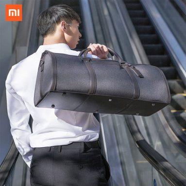 € 53 con coupon per 90 FUN Borsa per bagagli pieghevole di grande capacità Borsa cilindrica impermeabile Borsa per bagagli Borsa a tracolla per viaggi d'affari all'aperto Da Xiaomi Youpin dal magazzino EU CZ BANGGOOD