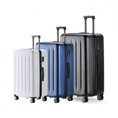 € 108 med kupon til 90FUN 20inch 24 tommer Rejselbagage 100% PC Kuffert Spinner Wheel Carry on Storage Case fra Xiaomi Youpin fra BANGGOOD