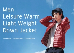 $53 with coupon for 90FUN Men Leisure Down Jacket Warm Light Weight from GearBest