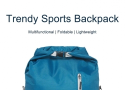 $12 with coupon for 90FUN Trendy Multifunctional Foldable Sports Backpack from Xiaomi Youpin – BLACK from GearBest