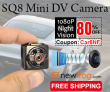 SQ8 Mini DV Camera, 1080P Night Vision, 80% Off Ngayon mula sa Newfrog.com