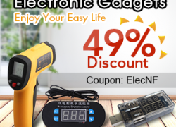 Electronic Gadgets, Enjoy Your Easy Life: 49% Discount Now from Newfrog.com