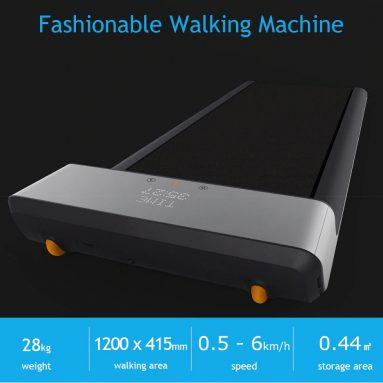 $389 with coupon for A1 Folding Walking Machine Gym Equipment Fitness from Xiaomi Youpin from Gearbest