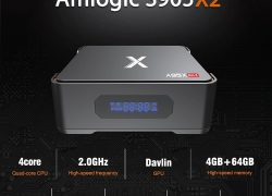 €55 with coupon for A95X Max TV Box – BLACK 2GB RAM+32GB ROM EU PLUG from Gearbest