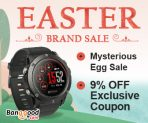 9% OFF Coupon Easter Sale for Brand Items from BANGGOOD TECHNOLOGY CO., LIMITED