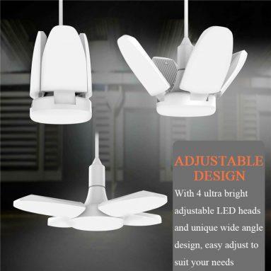 € 7 s kuponom za AC85-265V E27 60W Univerzalna deformabilna sklopiva garažna svjetiljka 246LED stropna podesiva stropna žarulja od BANGGOOD