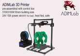 $323 with coupon for ADIMLab – gantry 3D Printer I3 Plus 310 x 310 x 410 – BLACK EU PLUG from GearBest