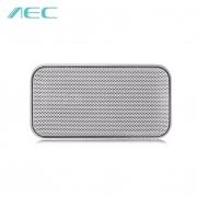 $ 8 con cupón para AEC BT - 207 Mini reproductor inalámbrico con altavoz Bluetooth - BLANCO de GearBest
