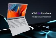 $ 429 עם קופון למחשב נייד AIWO I10 15.6 אינץ 'מחשב נייד מלא מתכת Windows 10 Intel Celeron J4105 2.5GHz 8G RAM 512GB SSD 0.3MP מצלמה - כסף 8 + 512GB מבית GEARBEST
